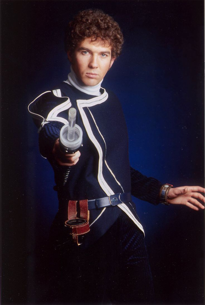 steven pacey as del tarrant in blakes 7