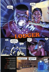 Doctor Who comic strip The Lodger by Gareth Roberts, page 2