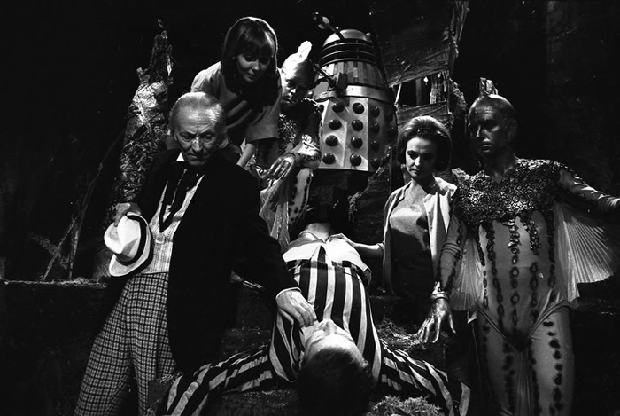 Doctor Who The Chase Cast Shot