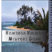 Tropical Hawaiian Party Murder Mystery Game