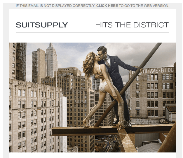 SuitSupply Email
