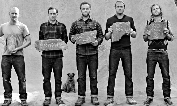 Members of the denim-breakers club