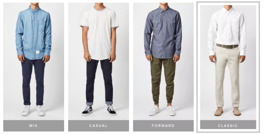 Five Four Club is a monthly men's clothing subscription kaipelrikun.ml take a brief survey when you sign up (sizes and style preferences), and then each month they .