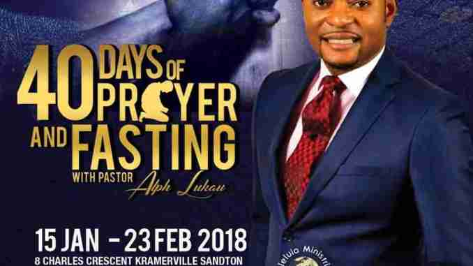 Pastor Alph Lukau , Biography , Prayer Request & Contact Details