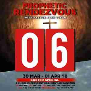 Join : Pastor Alph Lukau , Prophetic Rendezvous - Easter 2018
