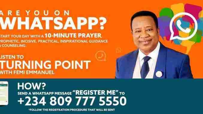 Pastor Femi Emmanuel , Biography , Prayer Request , Phone Number