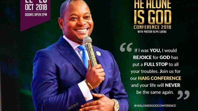 Pastor Alph Lukau Donation , Banking Details , Account Number