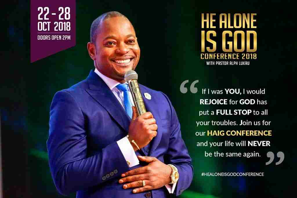 Is Pastor Alph Lukau a Congolese? Why he is not in Congo.