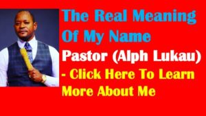Meaning Of Pastor Alph Lukau