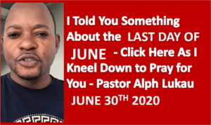 June End Prayer