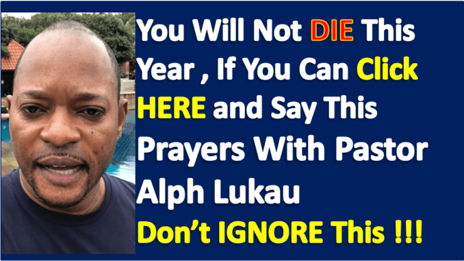 Alph Lukau Point In Prayers