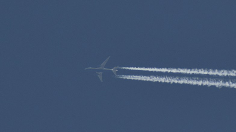 Boeing 787 at 35000ft .. (click to enlarge ..)