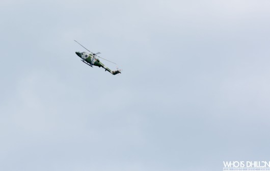 Helicopter Sunderland Air Show