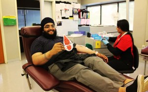 who is hussain - vancouver - blood donation