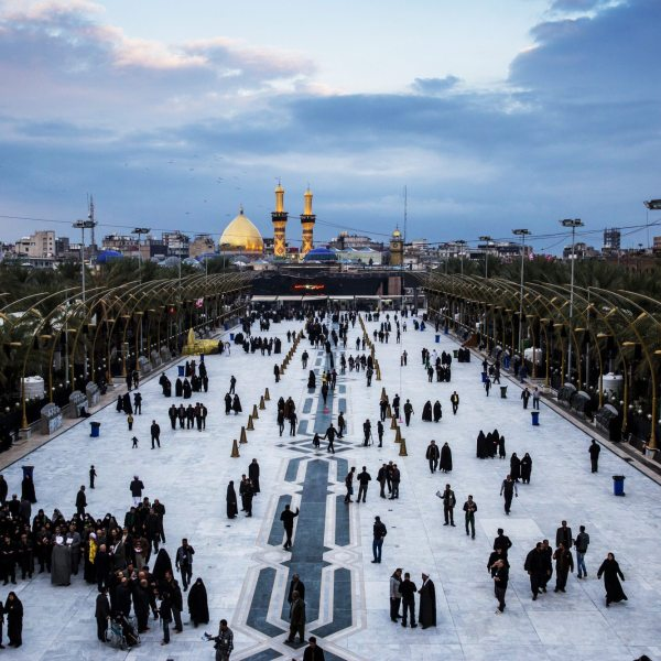 Known as 'Baynol Haramain; - a path between two shrines in Karbala. One if for Hussain and the other is for his brother Abbas who was also killed in the battle of Karbala.