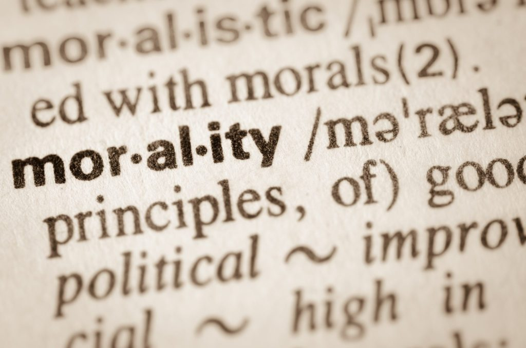 Who defines morality, is it relative and what role does it play in today's society?