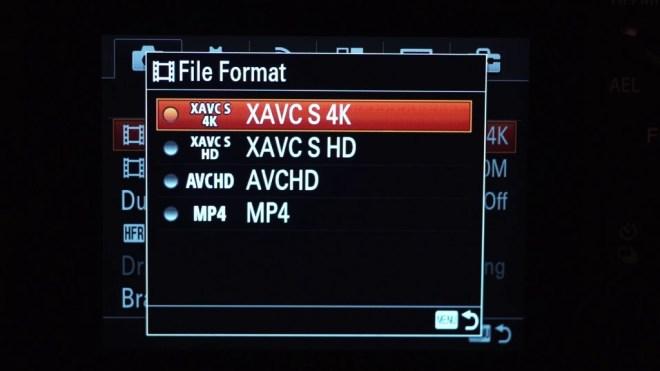 Sony A7s2 4k
