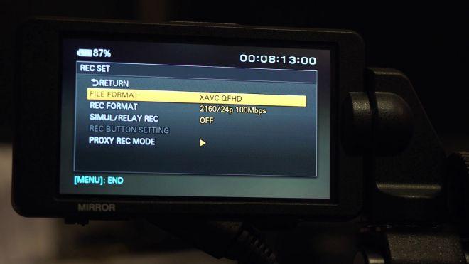 Sony FS5 4K
