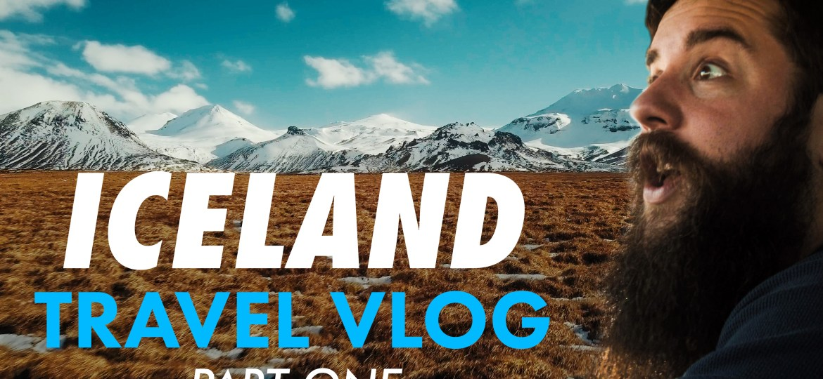 Come with me to Iceland! | Behind The Scenes Travel Vlog (Part 1)