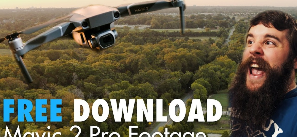 Download this Mavic 2 Pro footage for free! | 10-Bit, DLog-M, HLG & 2.7K 60fps