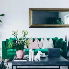 Living Es Sofa Organic Sectional Unsere Neue Wohnzimmer-einrichtung In Grün, Grau Und Rosa!