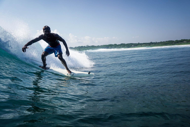 Surfing Little Andamans
