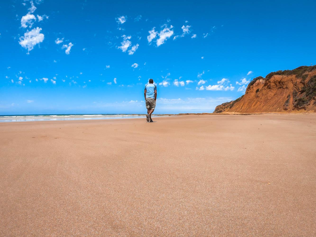Strolling on the Sunnymead Beach