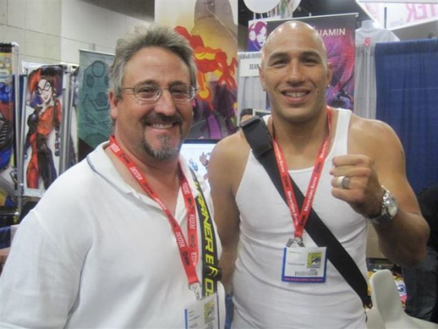 Brandon Vera  Rob Harris Comic Con - Who is Rob Harris