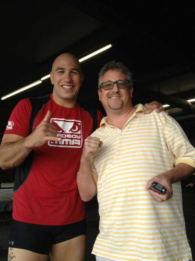 Brandon Vera  Rob Harris - Who is Rob Harris