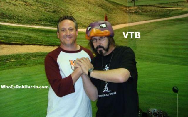 Vic The Brick Jacobs & Rob Harris