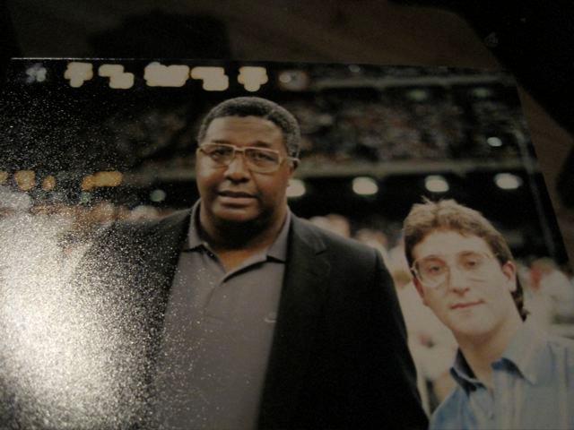 Rob Harris & John Thompson Georgetown Hoyas