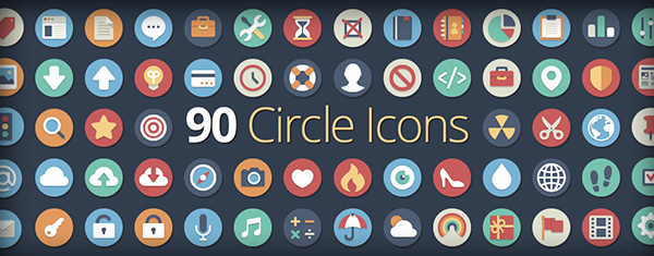 Free Flat Icons from Elegant Themes
