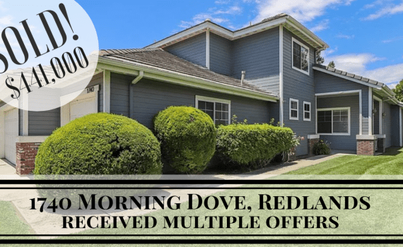 1740 Morning Dove, Redlands | sold house by Thomas Jackson, Redlands Real Estate Guy with Keller Williams
