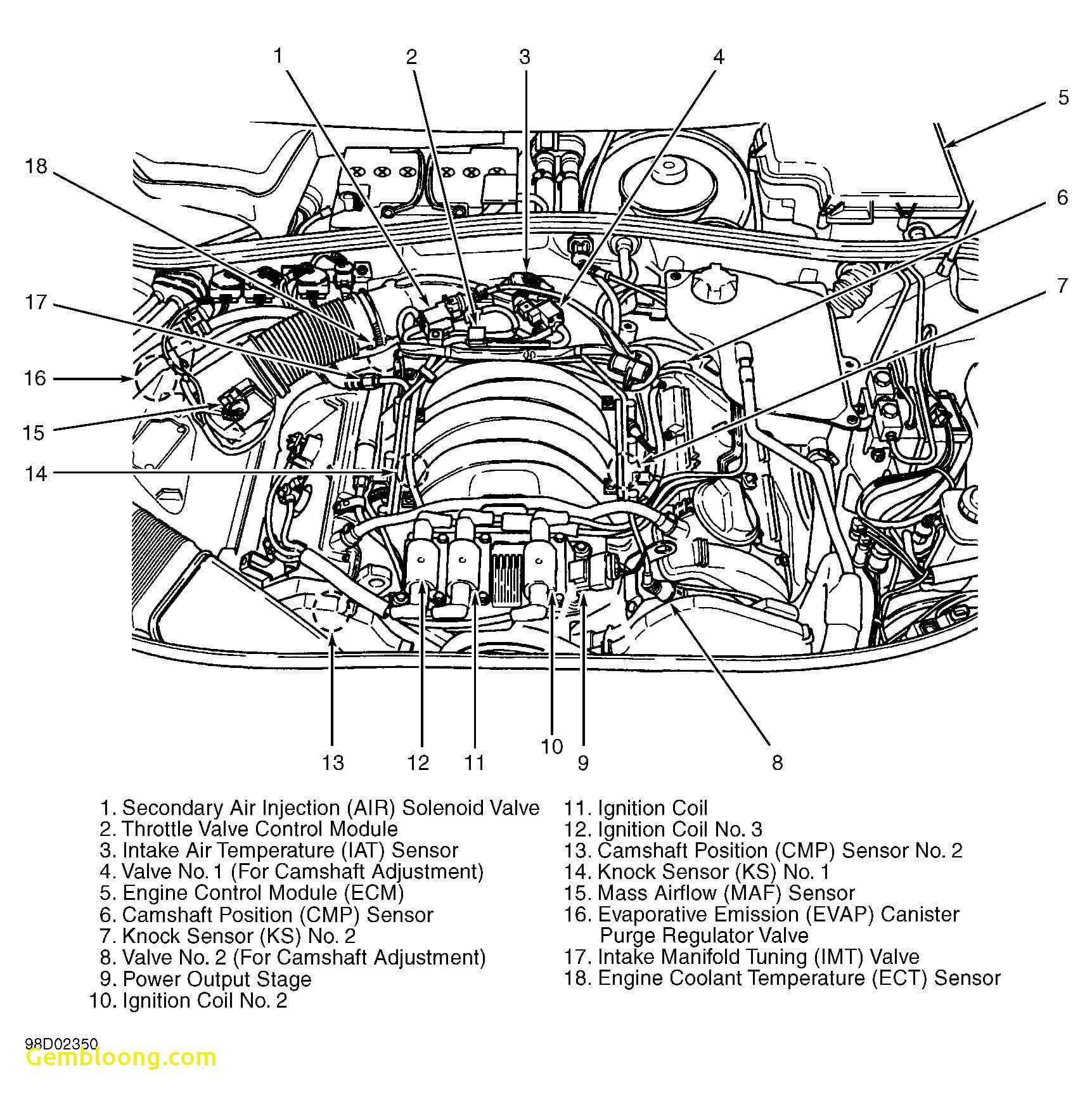 Here's among the best free car engine diagrams you can