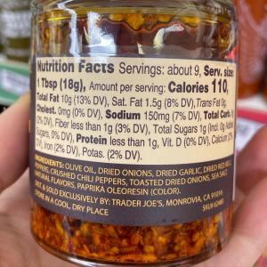 Chili Onion Crunch Whole30 Trader Joe S Recipes