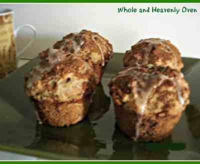 Glazed Snickerdoodle Pecan Muffins No.3