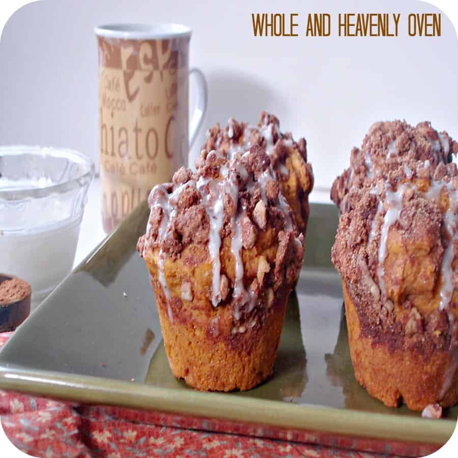 Pumpkin Pecan Streusel Muffins2