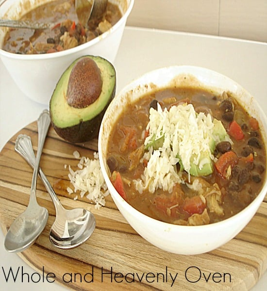Pumpkin Black Bean Chili