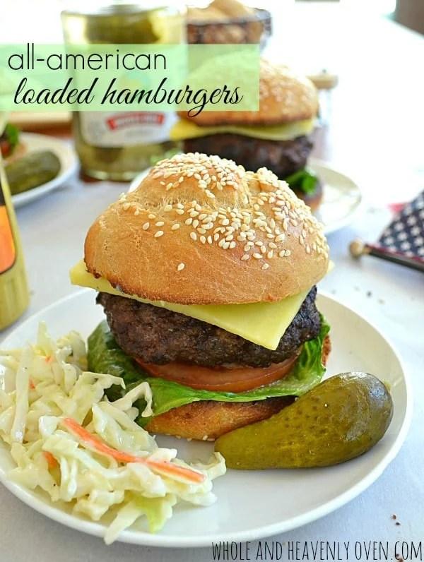 All-American Loaded Hamburgers10