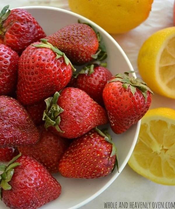 Pink Strawberry Lemonade
