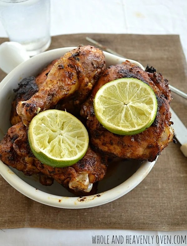 Spice-Rubbed Grilled Chicken8