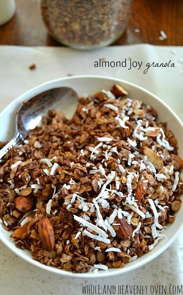 Almond Joy Granola10