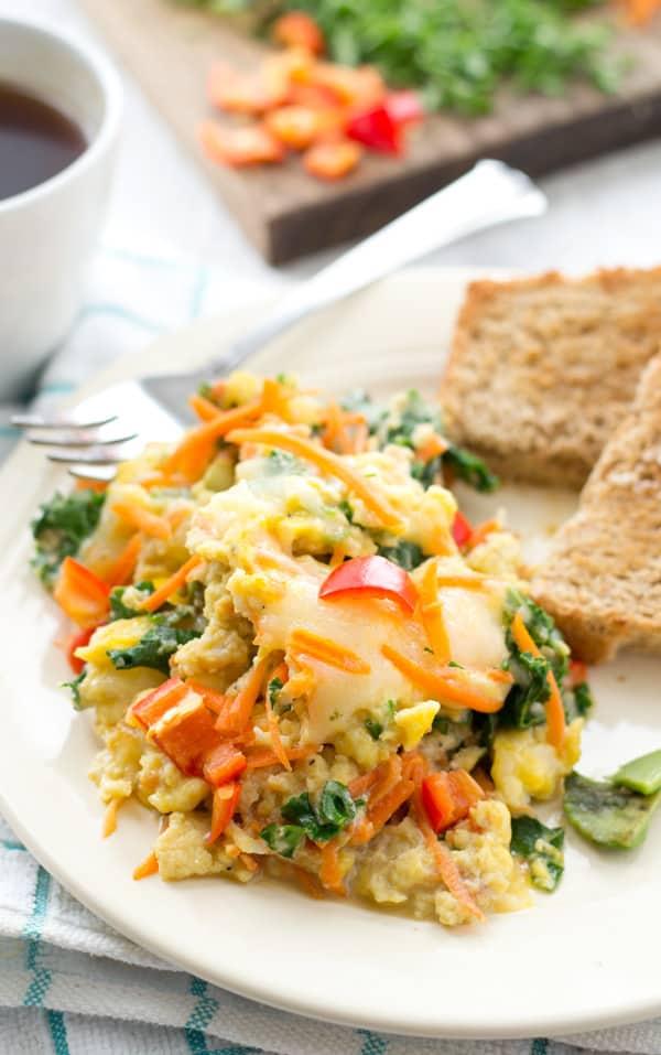 Rainbow-Kale-Scrambled-Eggs6