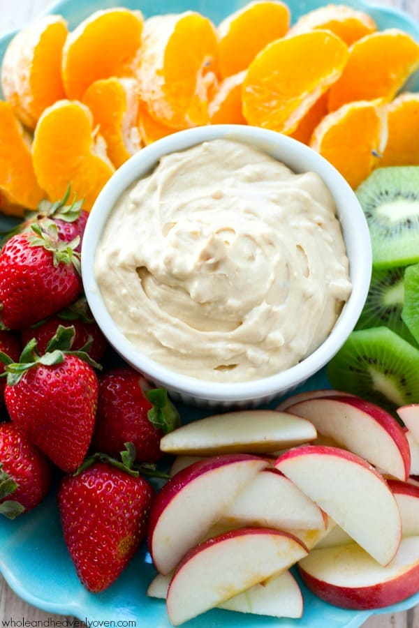 Smooth, creamy and unbelievably addicting, this simple peanut butter cheesecake dip will make any fruit fun to eat!