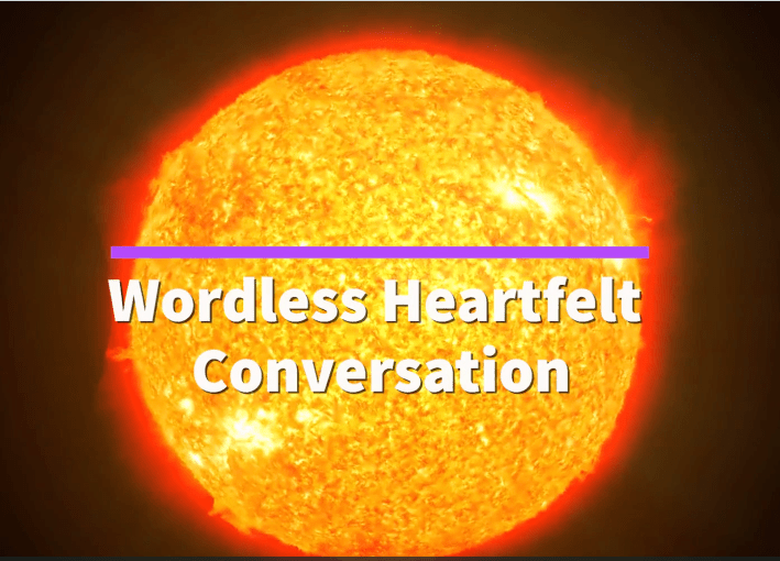 Wordless Heartfelt Conversation/Senza parole
