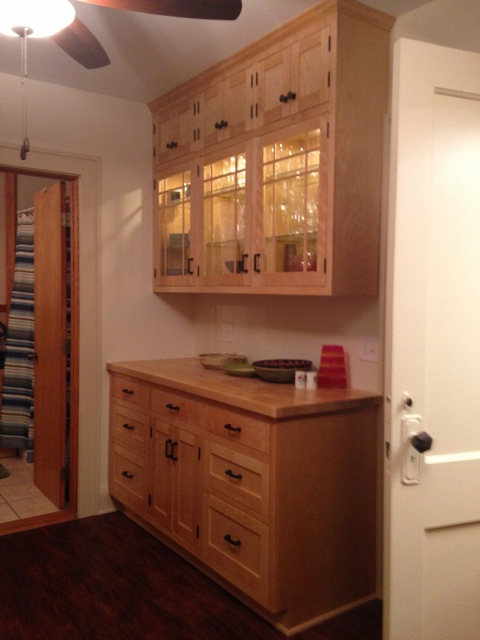 Custom cabinetry and kitchen remodel by Whole Builders