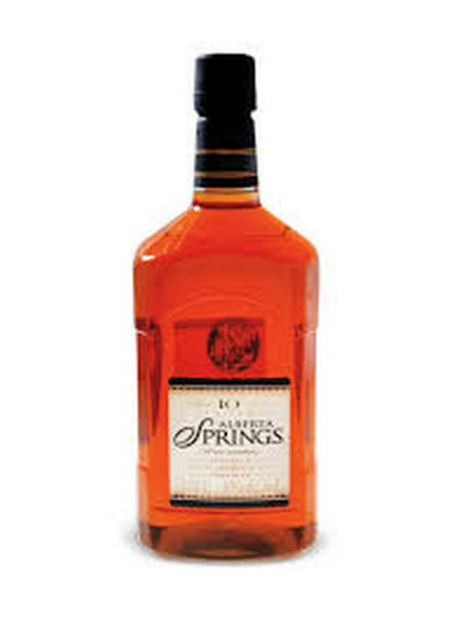 Alberta Springs Whisky Pet