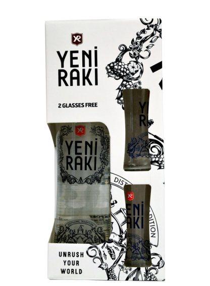 Yeni Raki - Glass Gift Pack