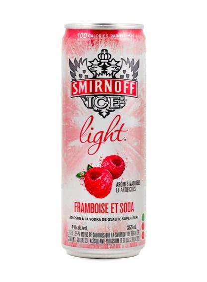 Smirnoff Ice Light Raspberry & Soda