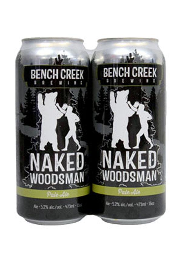 Bench Creek Brewing Naked Woodsman Pale Ale : Liquor Depot